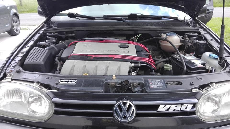 Golf 3 VR6 moteur