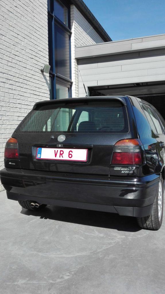 Golf 3 VR6 arrière