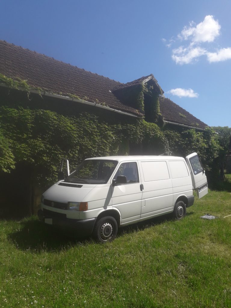 Voici le transporter t4 2.5 tdi en photo