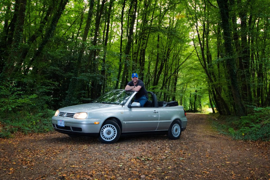 VW Golf Cabriolet MK3.5 de 2000
