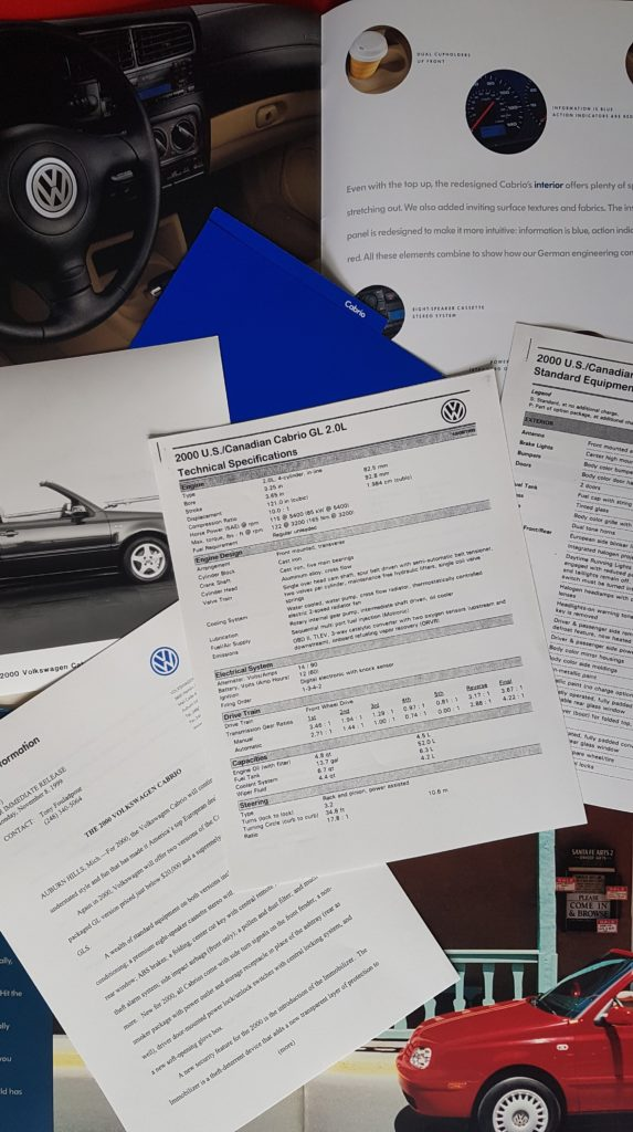 VW Golf Cabriolet MK3.5